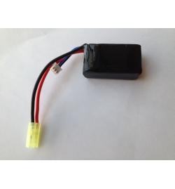 Batterie Lipo 7,4V 1200mAh 20C mini tamya (PEQ MICRO) - BLUE MAX