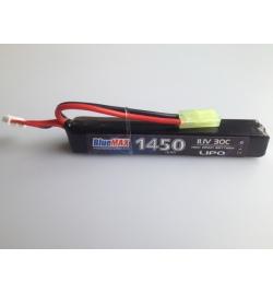 Batterie Lipo 11,1V 1450mAh 30C mini tamya (STICK) - BLUE MAX