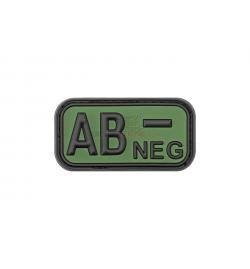 Patch PVC groupe sanguin AB- OD - JTG