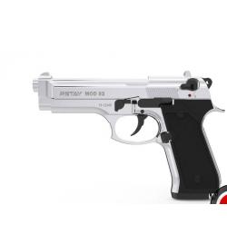 Retay MOD 92 9mm P.A.K Nickel balle à blanc - RETAY