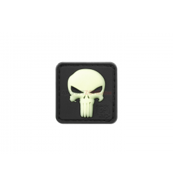 Patch PVC Punisher phosphorescent - JTG