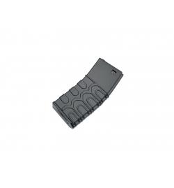 Chargeur T4 tactical 300 billes noir pour M4 - ICS