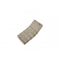 Chargeur T4 tactical 300 billes tan pour M4 - ICS