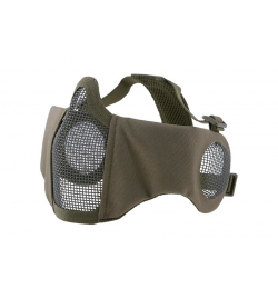Masque grillagé avec protection oreilles OD EVO PLUS - ULTIMATE TACTICAL