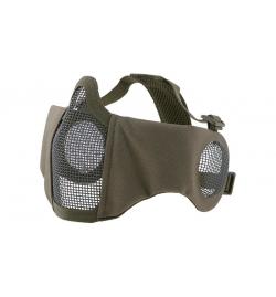 Masque grillagé avec protection oreilles OD EVO PLUS - ULTIMATE TACTICAL