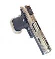 Hi-Capa 4.3 silver ALLOSAURUS gaz blowback - WE