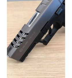 TR17K noir/fumé 9mm balle à blanc - BBLOW