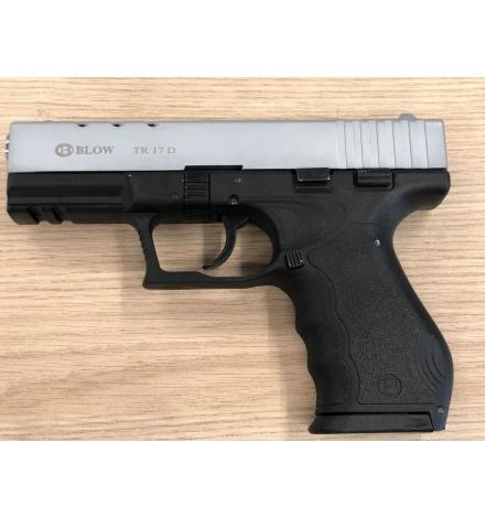 TR17D noir/chromé mat 9mm balle à blanc - BBLOW