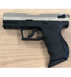 TR34 noir/satiné  9mm balle à blanc - BBLOW