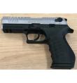 TR92K noir/chromé matte 9mm balle à blanc - BBLOW