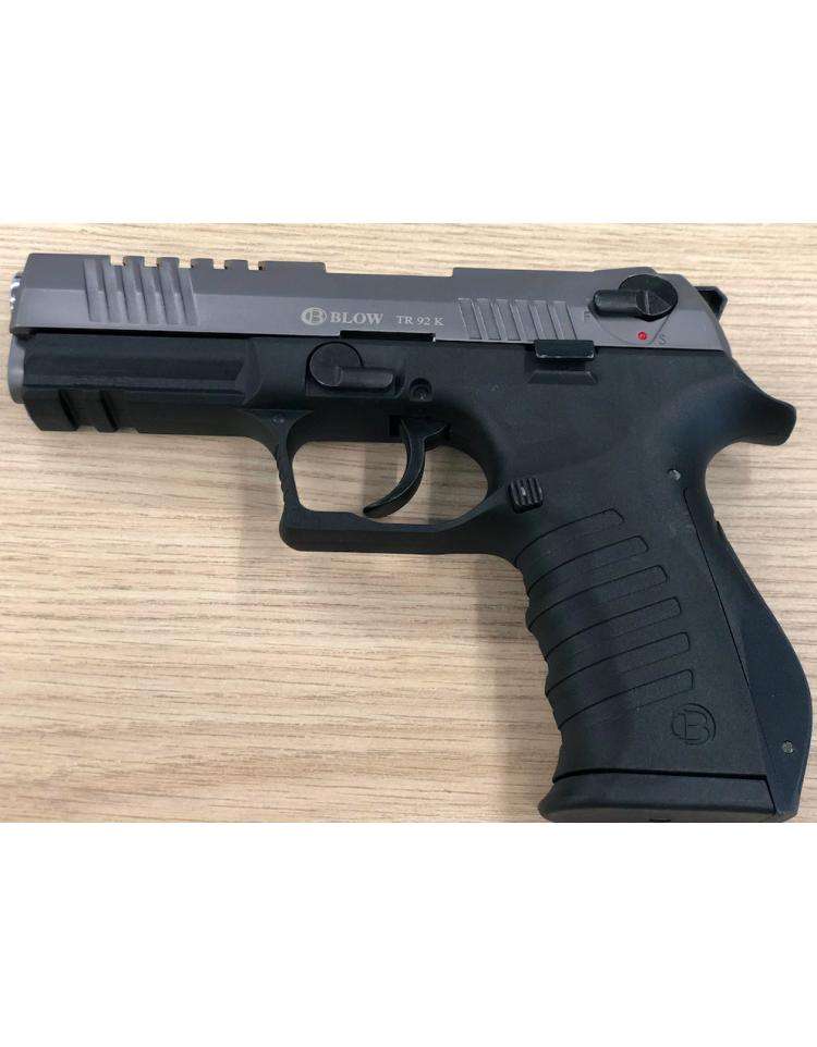 TR92K noir/fumé 9mm balle à blanc - BBLOW