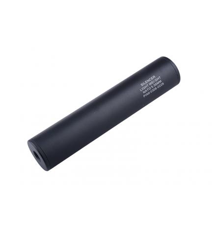 Silencieux universel noir 40X200mm - WELL