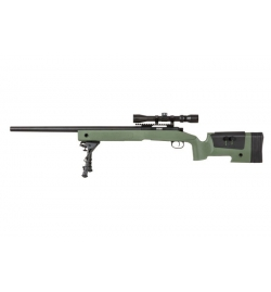 Sniper SA-S02 CORE OD avec lunette 3-9x40/ bipied /3 chargeurs - SPECNA ARMS