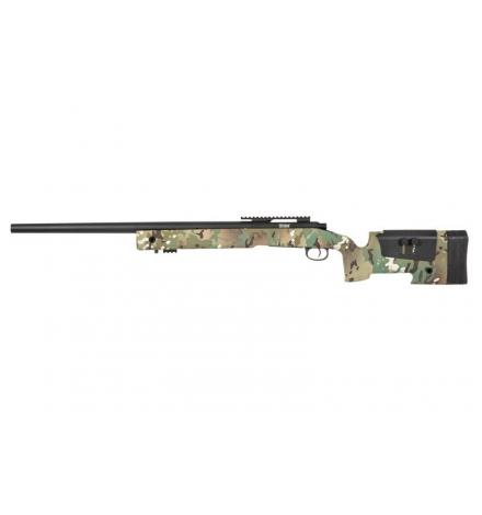 Sniper SA-S02 CORE MULTICAM avec 3 chargeurs - SPECNA ARMS