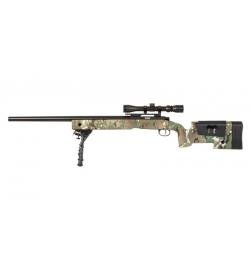 Sniper SA-S02 CORE MULTICAM avec lunette 3-9x40/ bipied /3 chargeurs - SPECNA ARMS