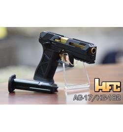 AG-17 noir/or gaz Blowback culasse métal - HFC