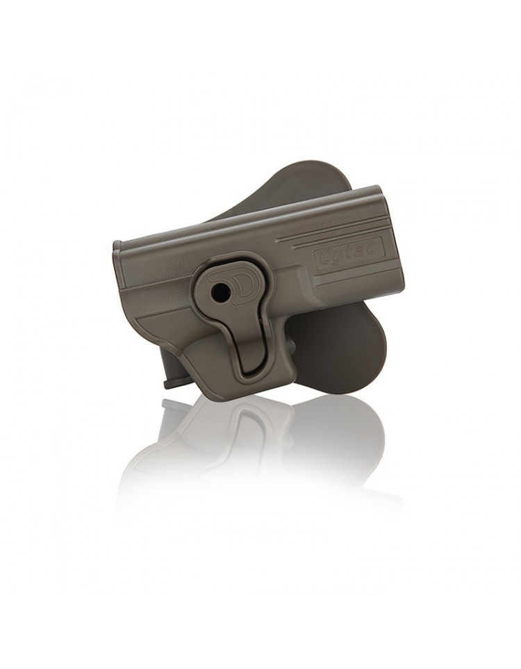 HOLSTER GLOCK DROITIER TAN - ASG