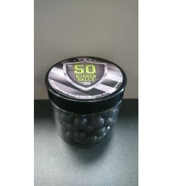 Pot de 100 billes caoutchouc pour T4E cal.50