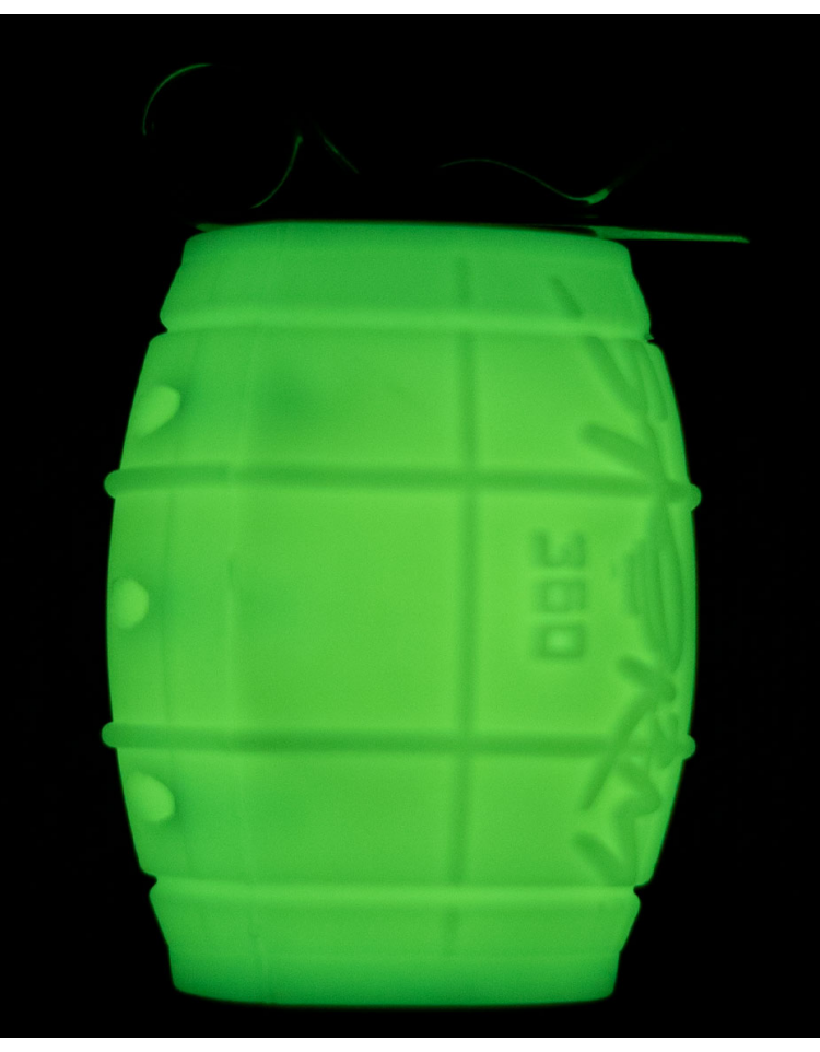 Grenade gaz à impact STORM 360 GEN3 PHOSPHORESCENTE - STORM Airsoft