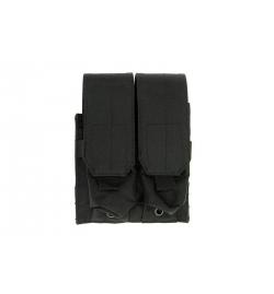 Double Poches chargeurs type M4/M16 noir - GFC