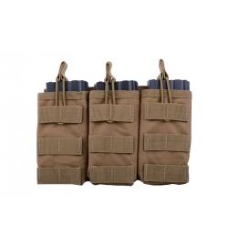 Triple Poches M4/AK/G36 tan - GFC
