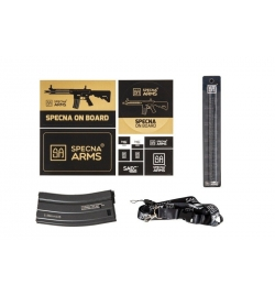 SA-B121 noir courte - SPECNA ARMS