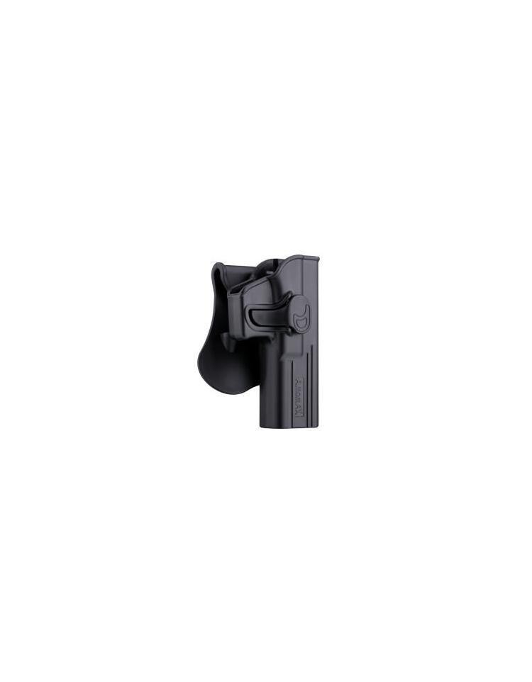 HOLSTER M9 DROITIER Noir WE/MARUI/KJW/KWA  - AMOMAX