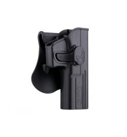 HOLSTER M9 DROITIER Noir pour CZ P-07/P-09  - AMOMAX