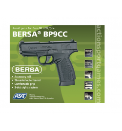 Bersa BP9CC Co2 Non-blowback - ASG