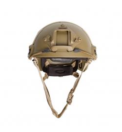 Casque tan Fast Strike Helmet - ASG