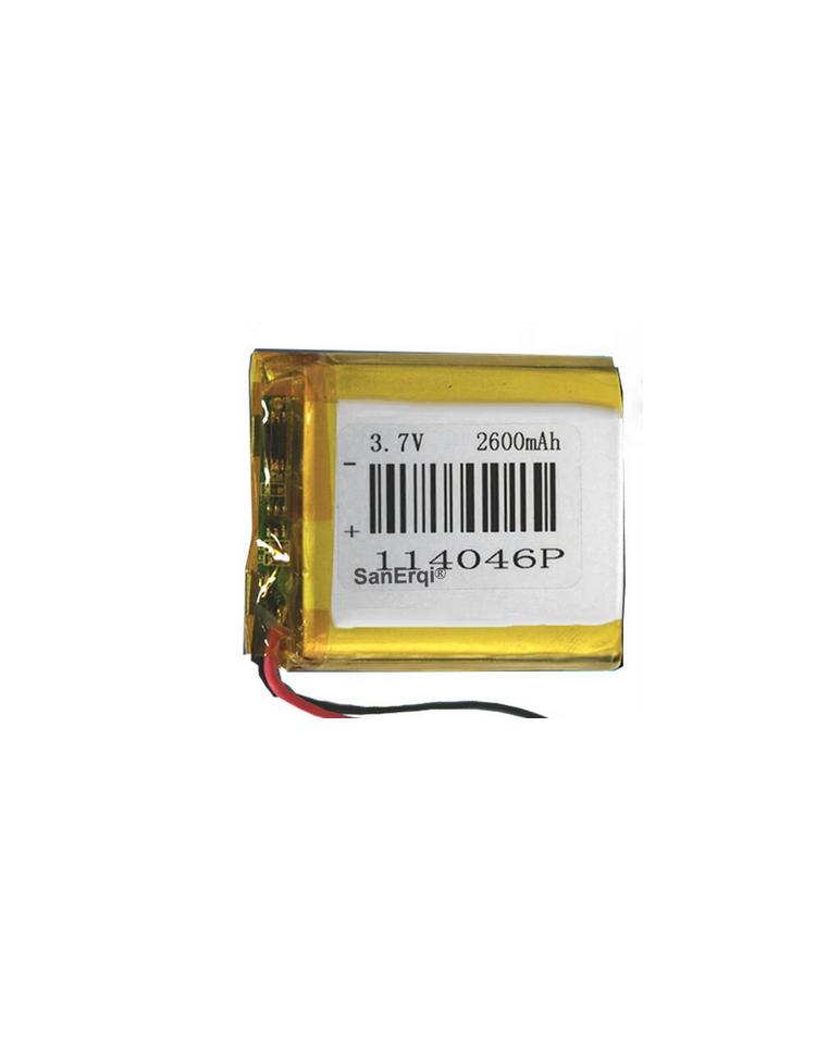Batterie 114046P 2600mAh 3,7V  lot de 10 pièces