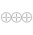 Lunette/point rouge RGB 4X32 tan - THETA OPTICS