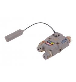 Boitier PEQ tan lampe/laser - FMA