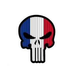 Patch PVC france PUNISHER
