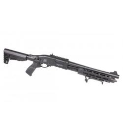 Fusil à pompe à gaz VELITES INVICTA G-V noir 3/6 billes - SECUTOR