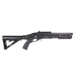 Fusil à pompe à gaz VELITES INVICTA G-III noir 3/6 billes - SECUTOR