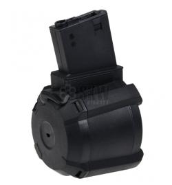Chargeur DRUM électrique 1000 billes pour M4 - SAIGO