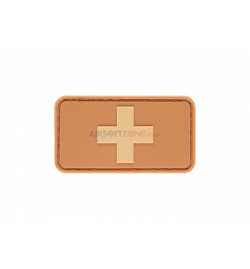 Patch PVC SWISS  tan - JTG
