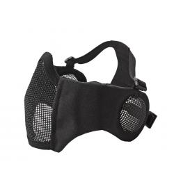 Masque grillagé avec protection oreilles NOIR  - STRIKE SYSTEMS