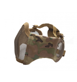 Masque grillagé avec protection oreilles MULTICAM  - STRIKE SYSTEMS