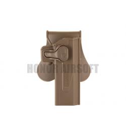 Holster Hi-capa TM/WE droitier Tan - AMOMAX