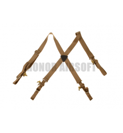 Bretelles/Harnais noir pour ceinture tactique - INVADER GEAR