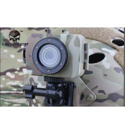 Caméra Tactical mini vidéo&photos recorder W/LCD Multicam - EMERSON