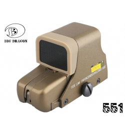 KILLFLASH pour viseur EOTECH 551/552 tan - BIG DRAGON