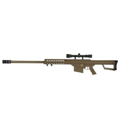 Sniper LT-20 M82 tan 1,5J + lunette 4x40 - LANCER TACTICAL