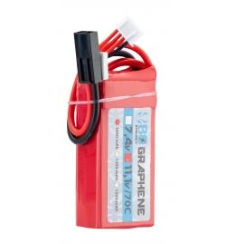 Batterie Graphene 11,1V 1000mAh 70C - BO MANUFACTURE