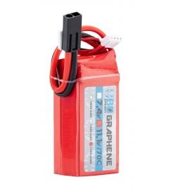 Batterie Graphene 11,1V 1500mAh 70C - BO MANUFACTURE