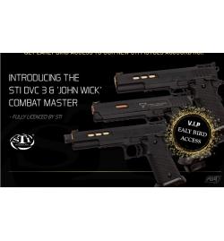 """STI TTI """"John Wick"""" Combat Master GBB Gaz - ASG"""