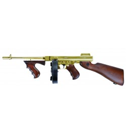 Thompson 1928 Gold and Real Wood - King Arms