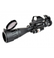Lunette 3-9X42 + laser + point rouge - JS TACTICAL